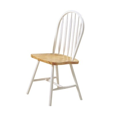 Kobbe Solid Wood Side Dining Chair Ophelia & Co.