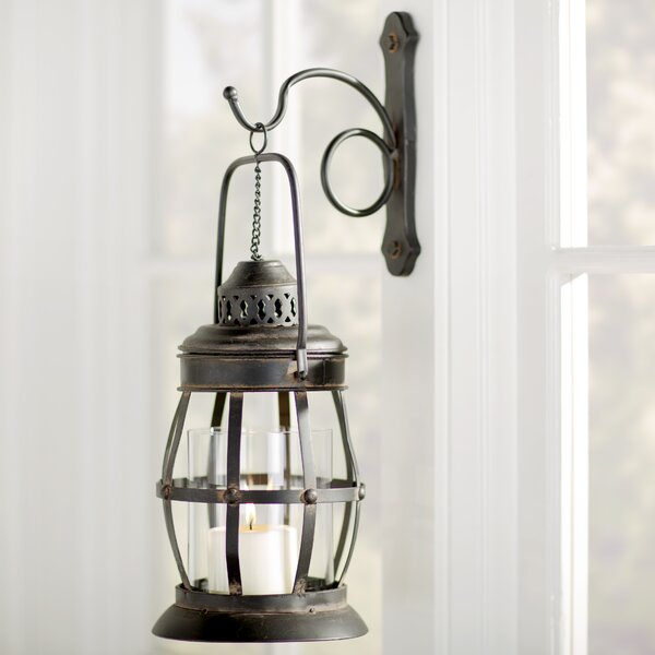 Lovely Indoor Lantern Wall Sconce | Wayfair