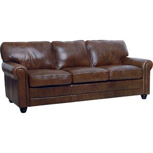 Clairsville Leather Sofa