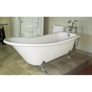 6 foot clawfoot tub.  Clawfoot Tubs You ll Love Wayfair