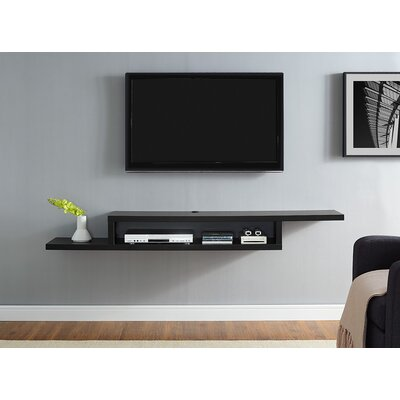 floating tv stands entertainment centers you 39 ll love. Black Bedroom Furniture Sets. Home Design Ideas