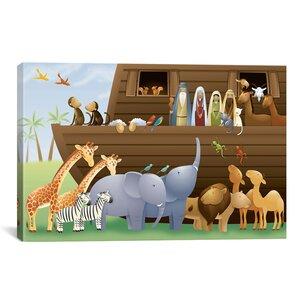 Pablo Noah's Ark Canvas Wall Art