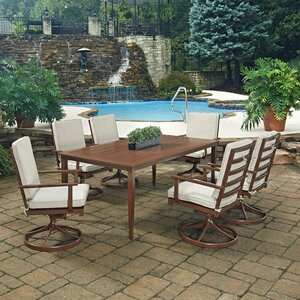 Key West 7 Piece Dining Set with Cushion