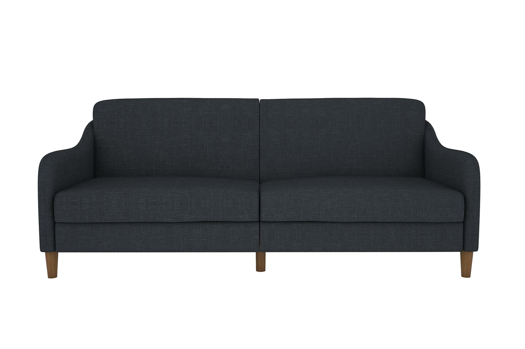 tulsa fold futons futon sleeper bed up modern pin furniture couch black recliner sofa