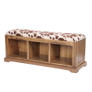 Michael Solid Wood Hall Storage Bench by Loo..