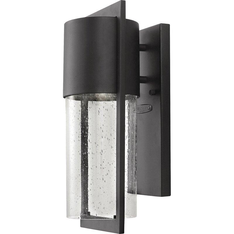 Contemporary Outdoor Garage Lights: Ballantyne Contemporary 1-Light Outdoor Sconce & Reviews
