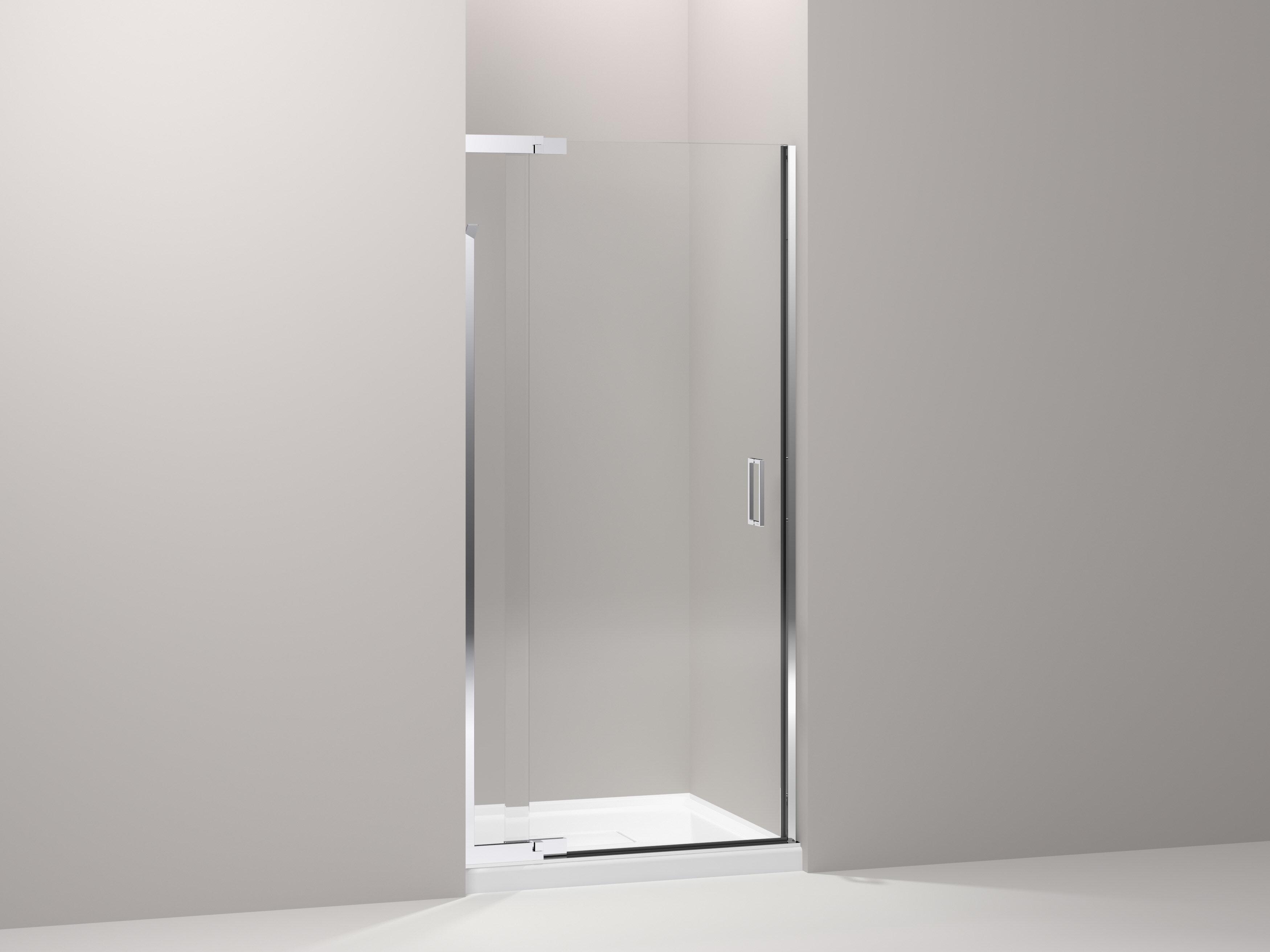K 702010 L Bnsh Kohler Purist 33 X 72 Pivot Shower Door With