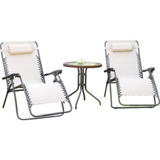 Diana 3 Piece Lounge Seating Group