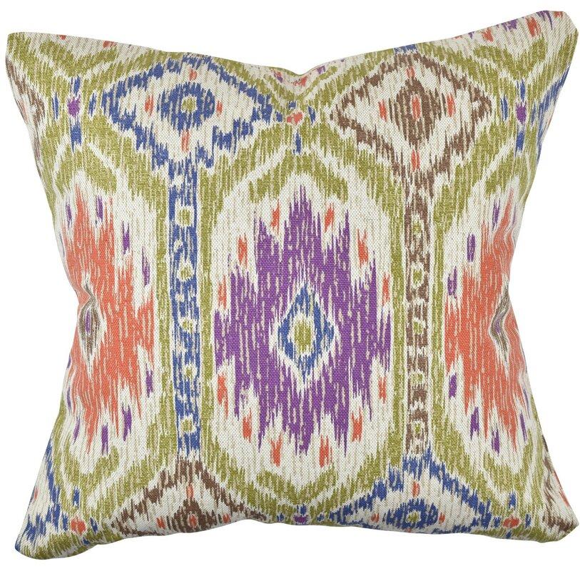 Qvc Throw Pillows : Vesper Lane Pastel Quirky Inspired 100 % Cotton Throw Pillow & Reviews Wayfair.ca