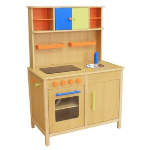 Blue Wooden Play Kitchen blue wooden play kitchen fun with ideas