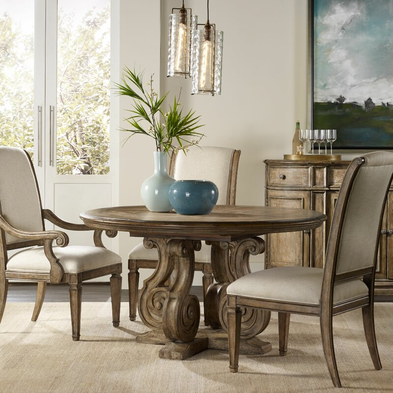 Hooker Furniture Solana Dining Table Base Wayfair - Hooker dining tables