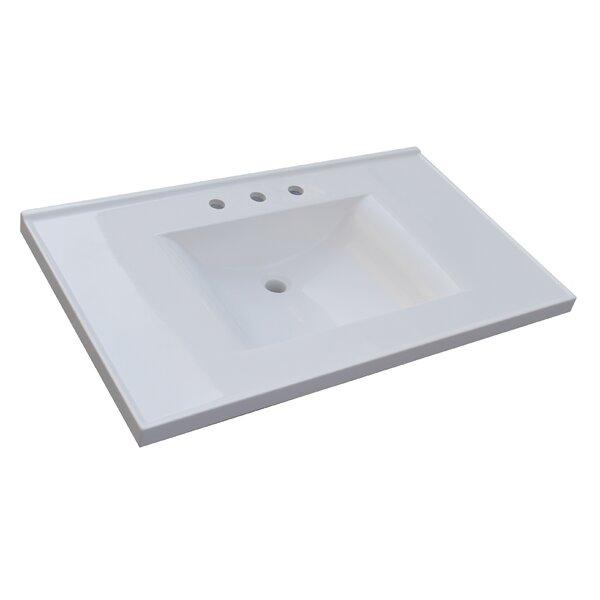 . Sagehill 37  Single Bathroom Vanity Top   Reviews   Wayfair