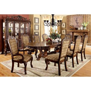 Helena 9 Piece Dining Set by A&J Homes Studio