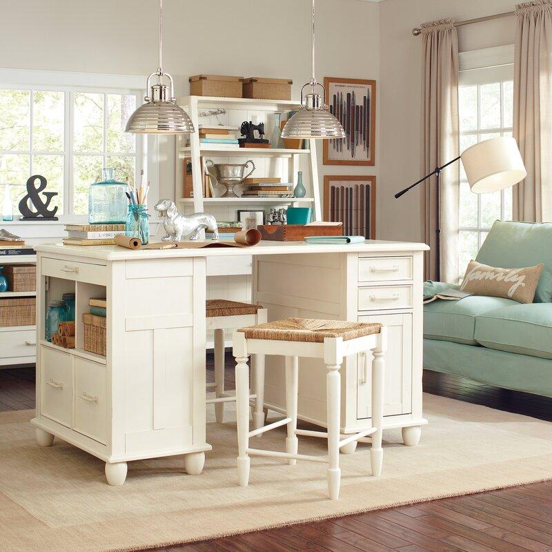 birch lane muriel computer desk reviews wayfair. Black Bedroom Furniture Sets. Home Design Ideas