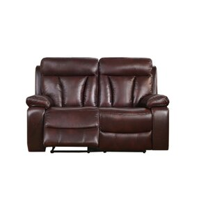 Lenny Power Reclining Loveseat by Red ..