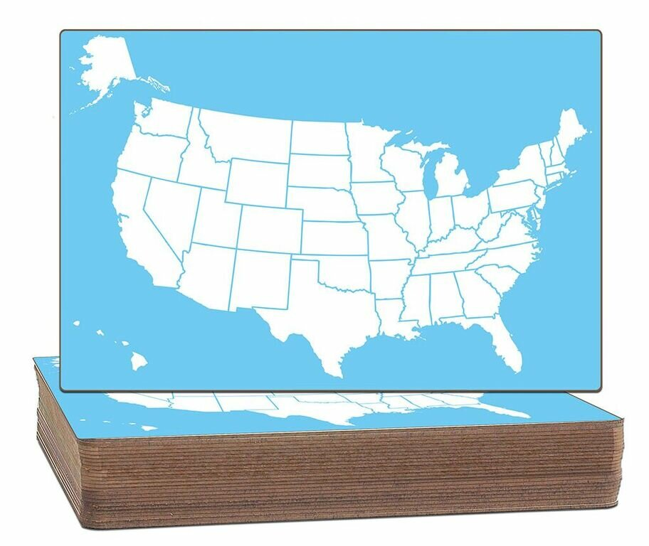 Flipside Products US Map TwoSided Dry Erase Whiteboard H X - Us map whiteboard