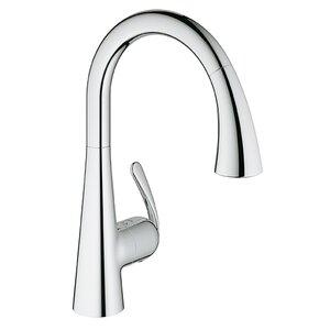 Ladylux Single Handle Single Hole Kitchen Faucet
