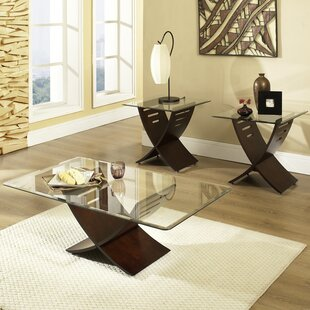 Glass Coffee Table Sets You\'ll Love in 2019 | Wayfair