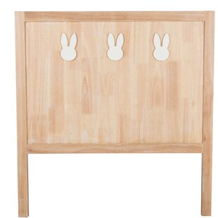 Children 3 Rabbit Wood Single Headboard by AlexandraHouse