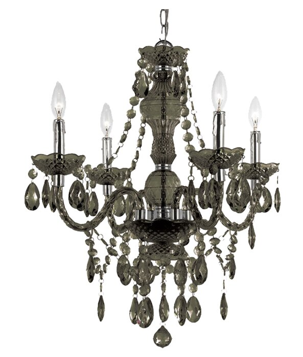 Ice palace 4 light crystal chandelier reviews joss main ice palace 4 light crystal chandelier aloadofball Gallery