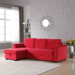 Red Sofa With Chaise | Wayfair