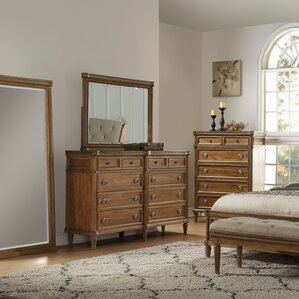 Haledon 8 Drawer Dresser with Mirror by Gracie Oaks