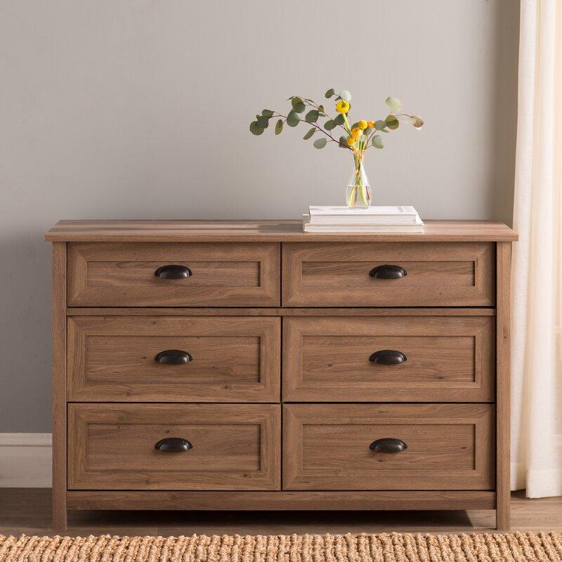 Reinhold 6 Drawer Dresser
