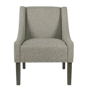 Londonshire Solid Swoop Armchair by Laurel F..