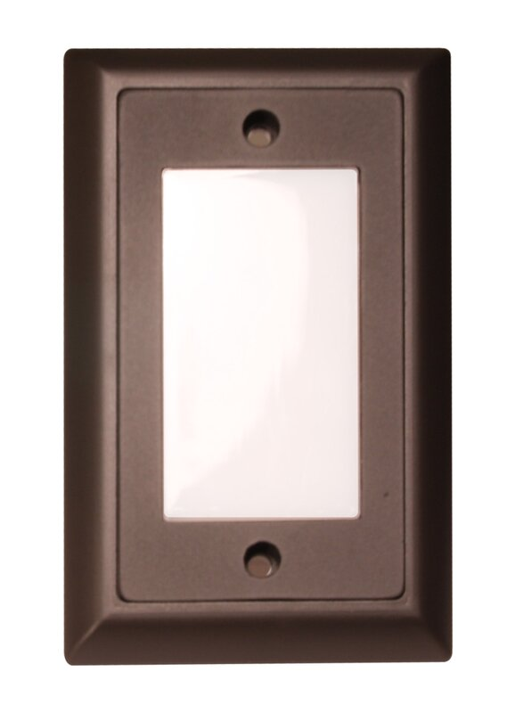 Smooth LED Step Light Faceplate
