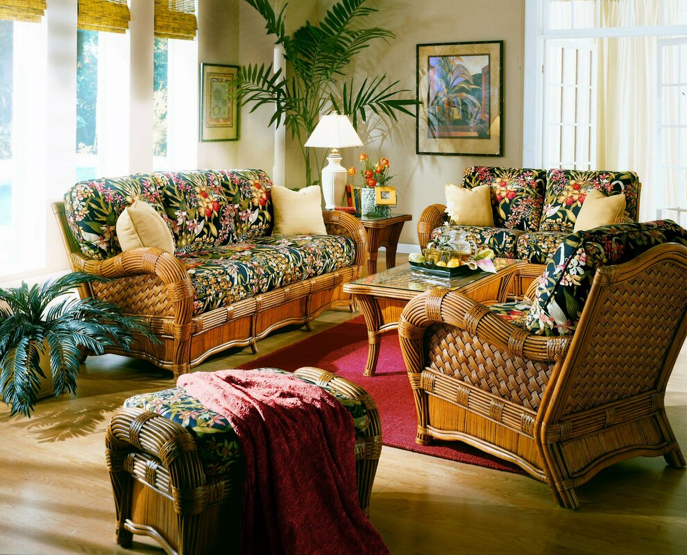 Spice Islands Kingston Reef 6 Piece Living Room Set Reviews