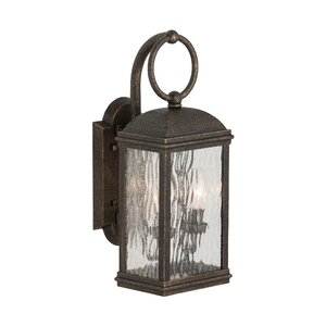 Burg 2-Light Outdoor Wall Lantern