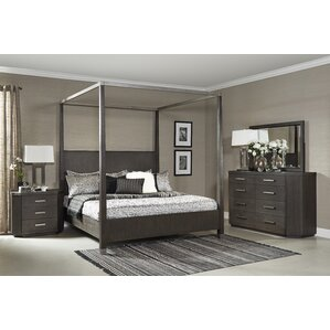 Chelsea Loft King Canopy Bed by Fairfax Home Collections
