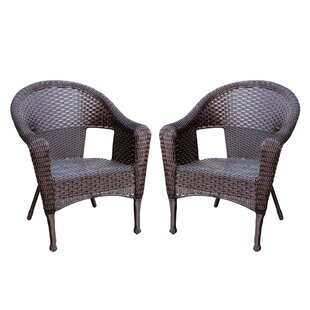 Ordinaire Kentwood Resin Wicker Patio Chair Without Cushion (Set Of 2)
