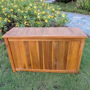 outdoor deck storage box cushion quickview deck boxes patio storage youll love wayfair
