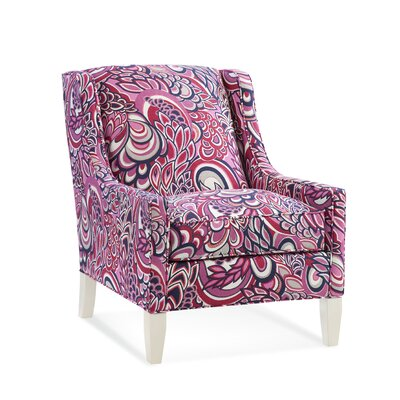 Darby Home Co Brougham Wingback Chair and Ottoman & Reviews | Wayfair