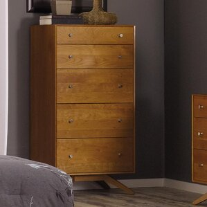 Astrid 5 Drawer Chest by Copeland Furniture