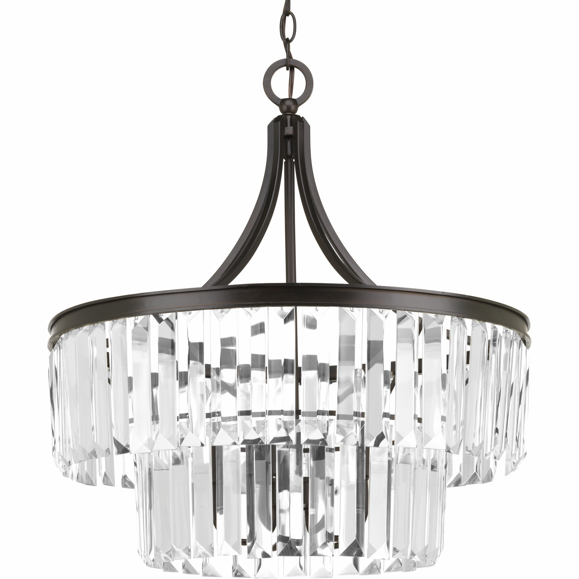Eggar 5 Light Crystal Chandelier & Reviews