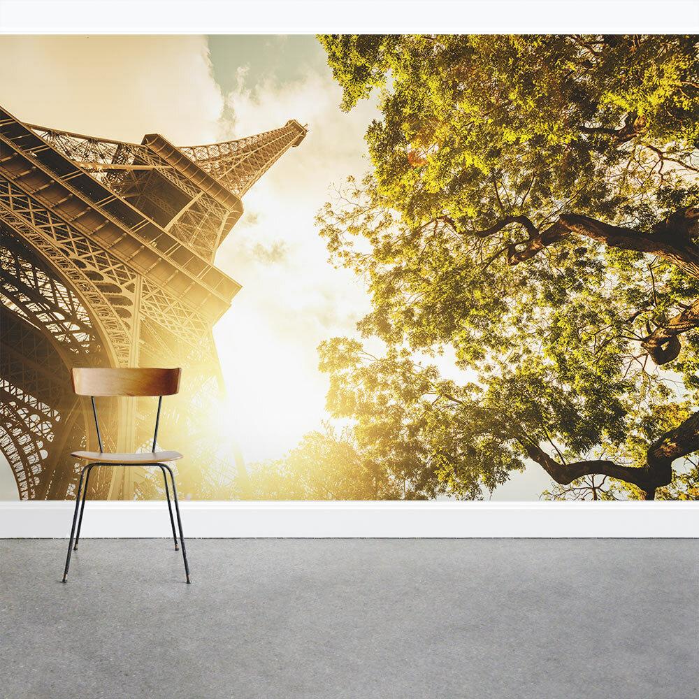 Wallums Wall Decor Eiffel Tower 8\' x 144\
