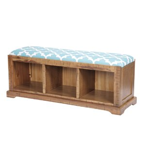 Kleinman Hall Solid Wood Storage Bench by Red Barrel Studio