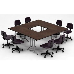 Square Shaped Conference Tables Youll Love Wayfair - Square meeting table