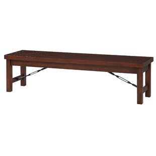 Varner Wood Storage Bench