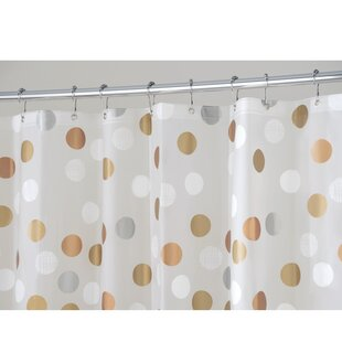 Abbey Dot Vinyl Single Shower Curtain
