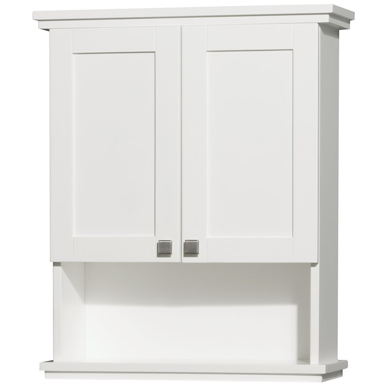 Wyndham Collection Acclaim 25 W X 30 H Wall Mounted Cabinet Reviews Wayfair