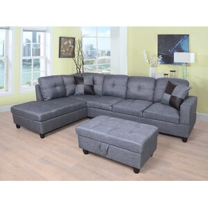 Russ Sectional  sc 1 st  Wayfair : l shaped leather sectional - Sectionals, Sofas & Couches