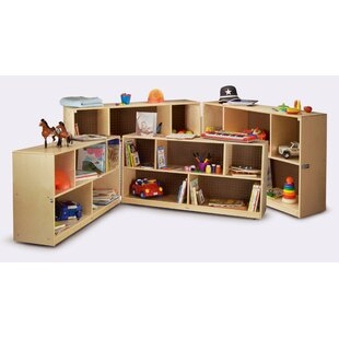 Folding Shelving Unit With Casters