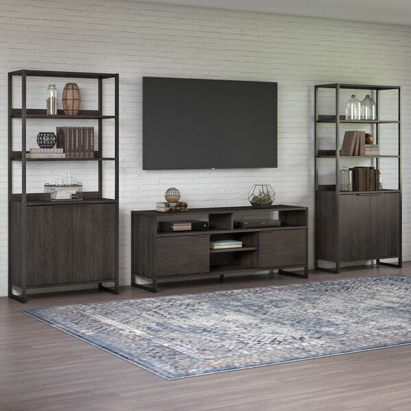 Bookcase Tv Stand Combo Wayfairca