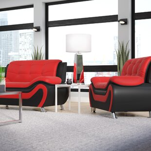 Red Living Room Sets You\'ll Love | Wayfair