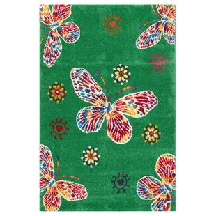 Raphael Green/Red/Yellow Area Rug by Castleton Home
