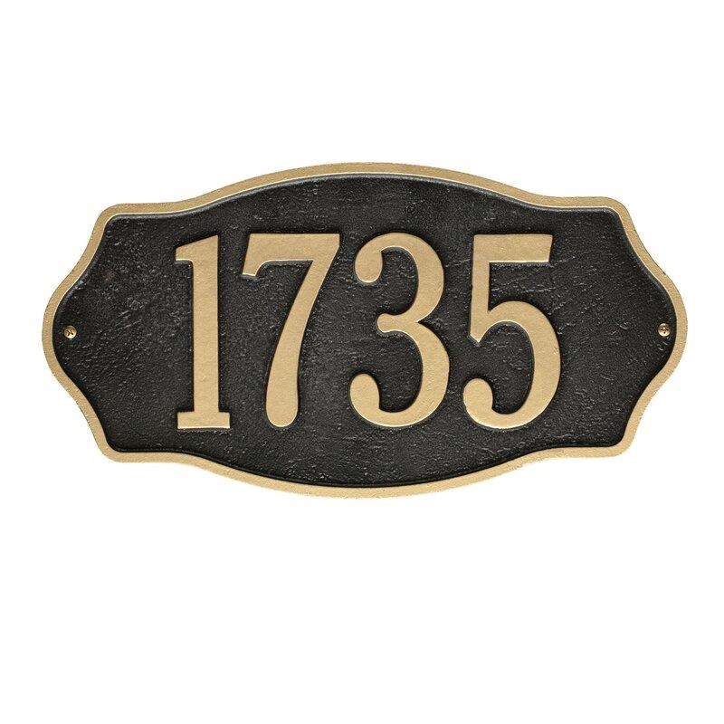 c6621fb4c648 Address Plaques & Signs | Wayfair