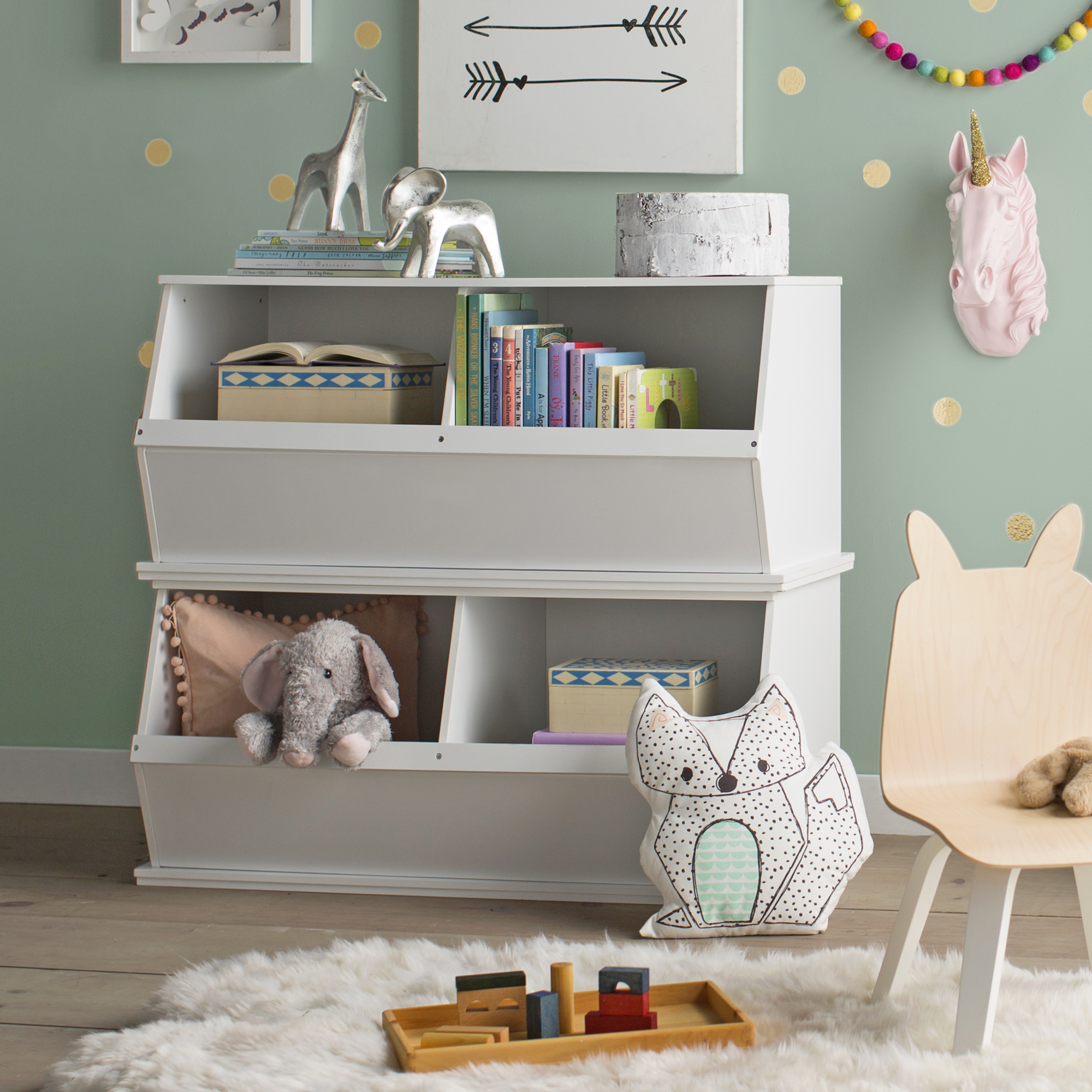 Toy Boxes + Organizers